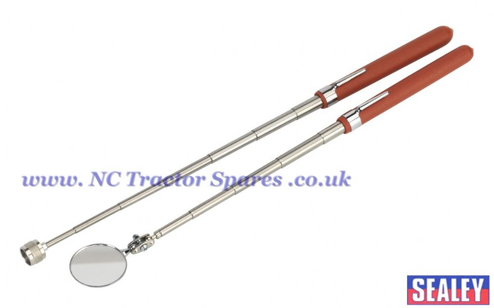 Telescopic Magnetic Pick-Up & Mirror Set 2pc